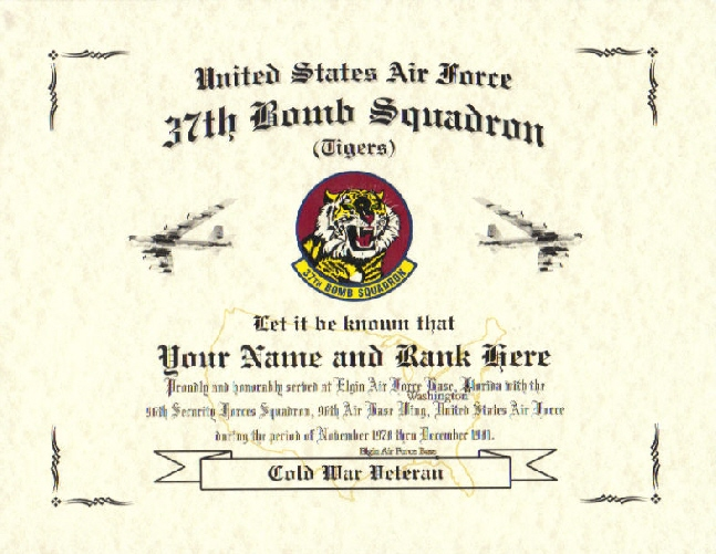 Military Certificate, Military Replacement Certificate, Military ...