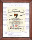 11th Armored Cavalry Regiment Line Pointer Image