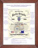 Berlin Brigade Line Pointer Example Image
