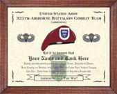 325th Airborne Battalion Combat Team (A) Image