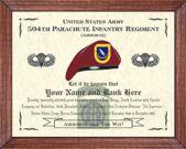 504th Parachute Infantry Regiment (A) Image