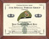 5th Special Forces Group (A) Image