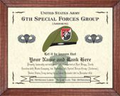 6th Special Forces Group (A) Image