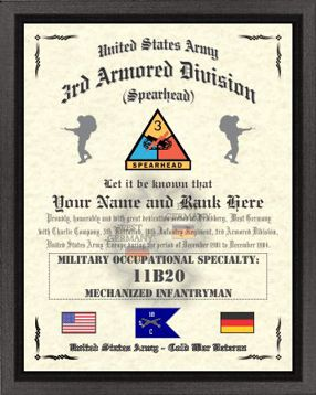 3rd Armored Division Design Image