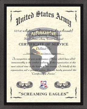 101st Airborne Division Design (A/ASSALT) Image