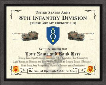 8th Infantry Division Design (M) Image